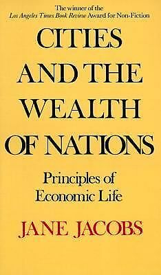 Cities and the Wealth of Nations, Jane Jacobs, Acceptable Book