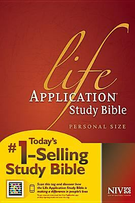 Life Application Study Bible NIV, Personal Size by