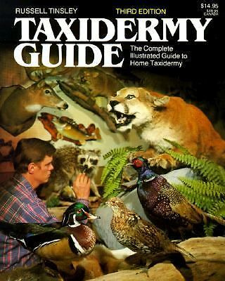 Taxidermy Guide, Tinsley, Russell, Acceptable Book
