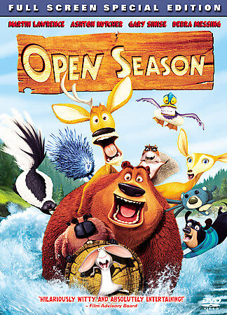 Open Season DVD Full Screen Special Edition, Acceptable DVD, ,