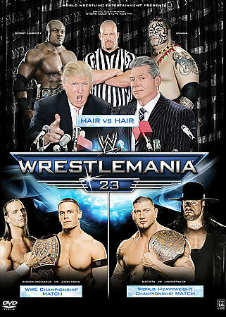 WWE: WrestleMania 23 by The Undertaker, John Cena