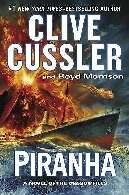 Piranha (The Oregon Files), Morrison, Boyd, Cussler, Clive, Acceptable Book