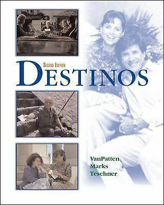 Destinos Student Edition w/Listening comprehension Audio CD, 2nd Edition, Teschn