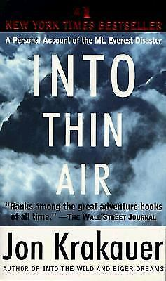Into Thin Air: A Personal Account of the Mt. Everest Disaster, Krakauer, Jon, Go