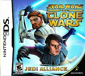 Star Wars The Clone Wars: Jedi Alliance - Nintendo DS by