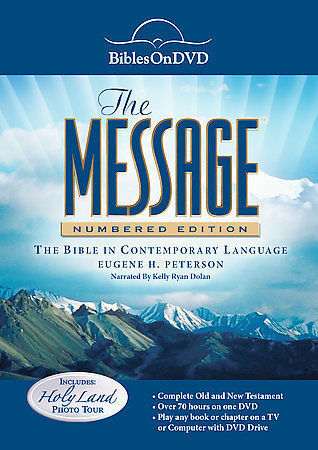 Message: Numbered Edition Bible on DVD by Bibles On DVD