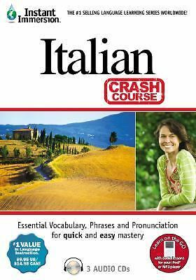 Instant Immersion Italian - Crash Course (Instant Immersion) by Instant Immersi