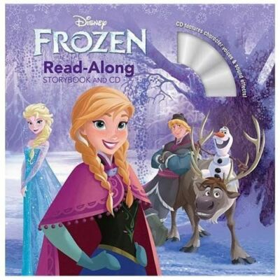 Frozen Read-Along Storybook and CD, Disney Book Group, Good Book