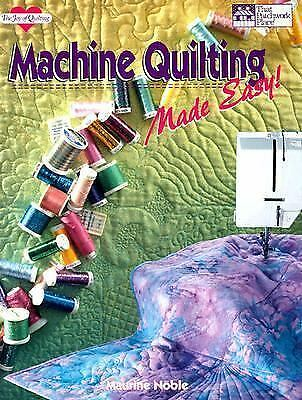 Machine Quilting Made Easy, Noble, Maurine, Acceptable Book