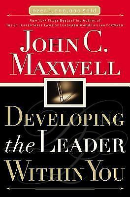 Developing the Leader Within You, John C. Maxwell, Acceptable Book