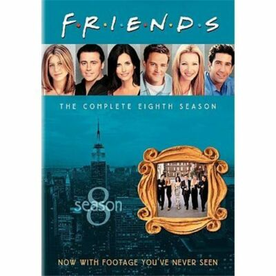 Friends: Season 8, Acceptable DVD, David Schwimmer, Matthew Perry, Matt LeBlanc,
