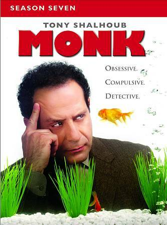 Monk: Season 7, Good DVD, Ted Levine, Jason Gray-Stanford, Traylor Howard, Tony