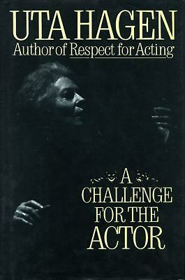 A Challenge For The Actor, Uta Hagen, Acceptable Book