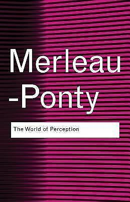 The World of Perception - Maurice Merleau-Ponty - Good Condition