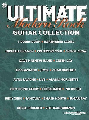 Ultimate Modern Rock Guitar Collection: Authentic Guitar TAB, Hal Leonard Corp.,
