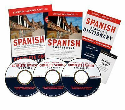 Spanish Complete Course (Living Language Complete Course), Living Language, Good