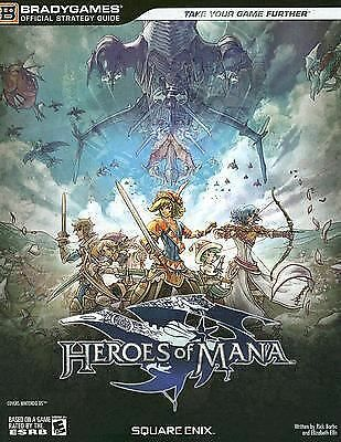 Heroes of Mana Official Strategy Guide (Bradygames Strategy Guides) (Bradygames