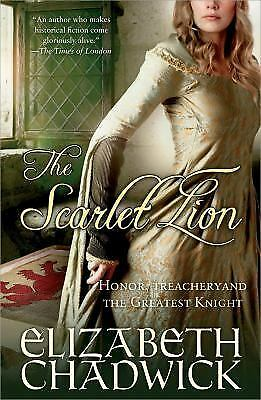 The Scarlet Lion (William Marshal, Book 2), Chadwick, Elizabeth, Acceptable Book