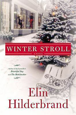 Winter Stroll, Hilderbrand, Elin, Acceptable Book