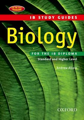 Biology for the IB Diploma, Allott, Andrew, Good Book
