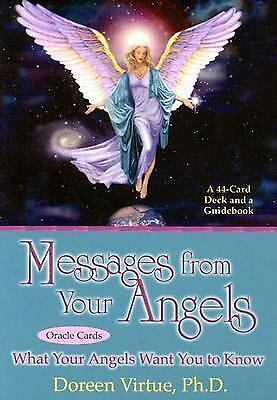 Messages From Your Angels Cards (Large Card Decks) by Doreen Virtue