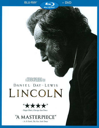 LINCOLN (Blu-ray/DVD, 2013, 2-Disc Set) New / Factory Sealed / Free Shipping