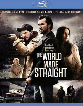 THE WORLD MADE STRAIGHT (Blu-ray Disc, 2015) New / Sealed / Free Shipping