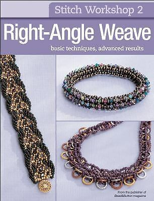 Stitch Workshop: Right-Angle Weave by