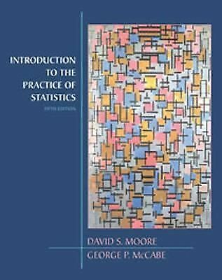Introduction to the Practice of Statistics by Moore, David S., McCabe, George