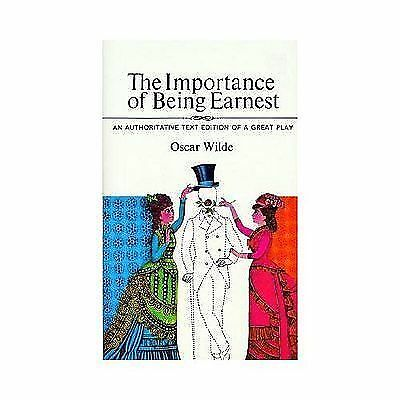 The Importance of Being Earnest by Wilde, Oscar