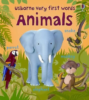 Animals (Usborne Very First Words) by