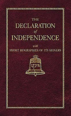 Declaration of Independence (Little Books of Wisdom) by Jefferson, Thomas