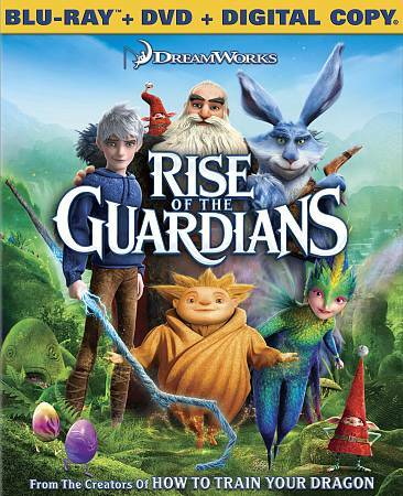 Rise of the Guardians Two-Disc Combo: Blu-ray +DVD +Digital HD