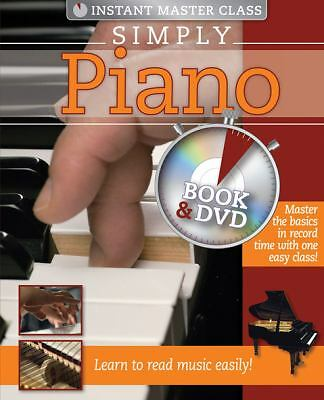 SIMPLY PIANO (Instant Master Class) W CD by Hinkler Studios