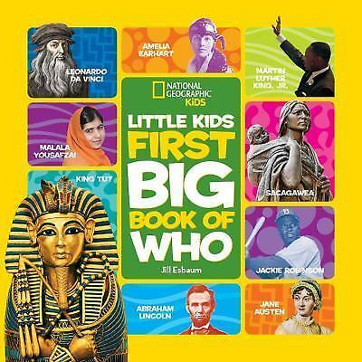 National Geographic Little Kids First Big Book of Who (National Geographic Littl