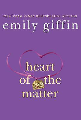 Heart of the Matter, Emily Giffin, Good Book