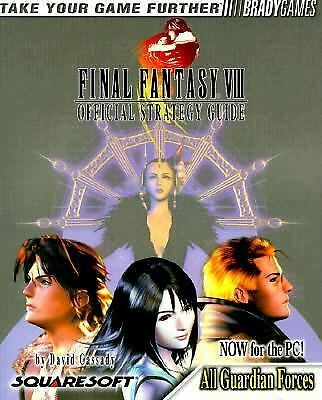 Final Fantasy VIII PC Official Strategy Guide (Bradygames Strategy Guides) by B