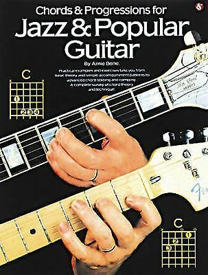 Chords and Progressions for Jazz and Popular Guitar, Arnie Berle, Good Book