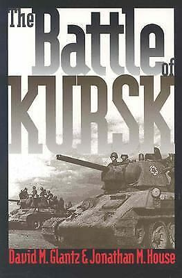 The Battle of Kursk, House, Jonathan M., Glantz, David M., Acceptable Book