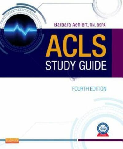 ACLS Study Guide, 4e, Barbara Aehlert, Acceptable Book