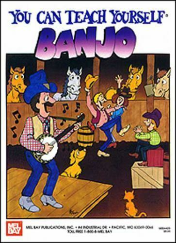 You Can Teach Yourself Banjo Book Only