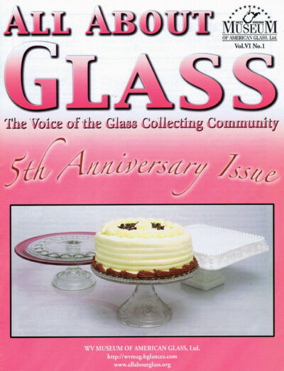All About Glass 6:1: Cake Stands*Akro Agate*Cameo Glass