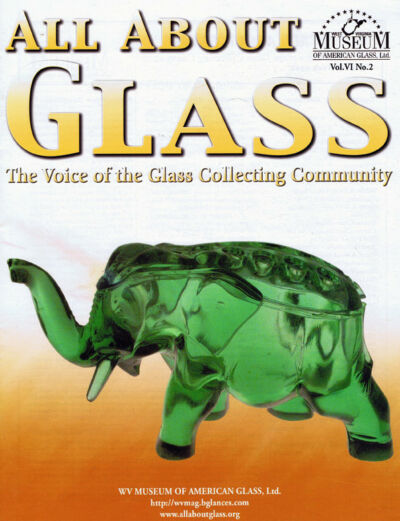 All About Glass 6:2: Flower Frogs*Ravenscroft*Cranberry