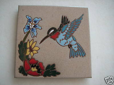 Whipple & Sibley American Hand Painted Art Tile