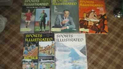 May 1960 Sports Illustrated set - 5 issues