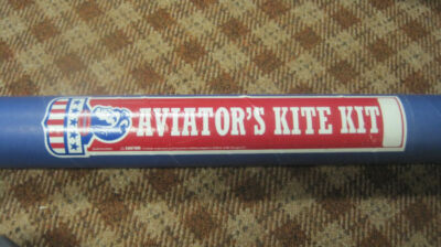 "Aviator's Kite Kit - Brand New in box 35"" x 35"" Nylon"