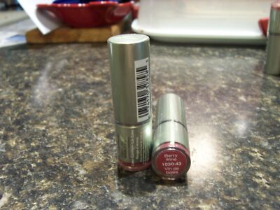 Sally Hansen Natural Carmindy Color Comfort Lipstick Berry Wine 1030-43 SEALED!