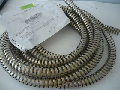 "Stainless Steel Internal Inner Hose Support Coil Spring 7/8"" ID 15/16"" OD x 25'"