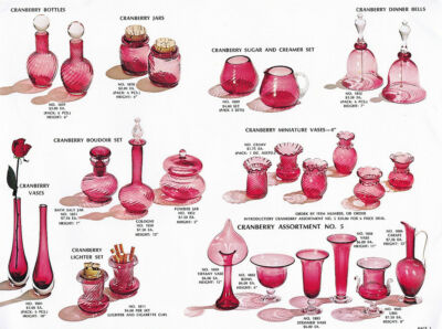 Pilgrim Glass, 1966-1972 - Four Catalog Reprints