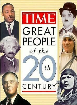 Time's Greatest People of the 20th Century by Time-Life Books Editors (1999,...